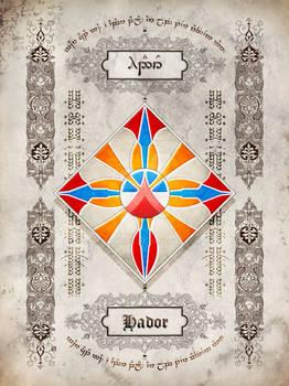 Silmarillion heraldry: Hador