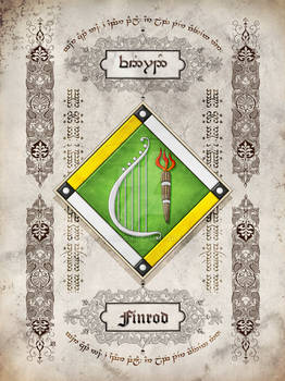 Silmarillion heraldry: Finrod