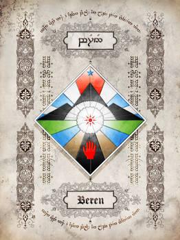 Silmarillion heraldry: Beren