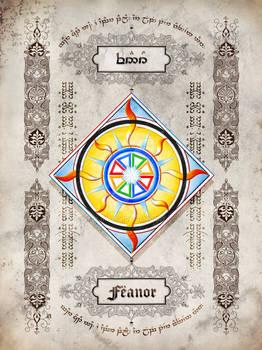 Silmarillion heraldry: Feanor