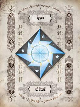 Silmarillion heraldry: Elwe - Elu Thingol