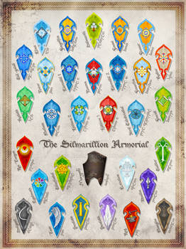 The Silmarillion Armorial Complete