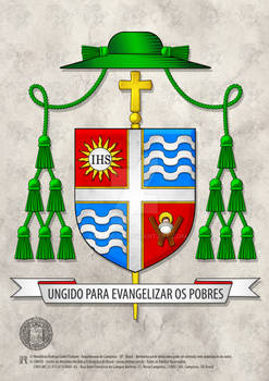 Heraldry Bishop Jose Aristeu Vieira