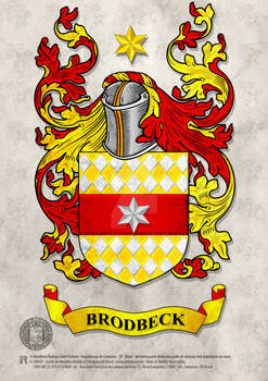 Familiar Heraldry Brodbeck