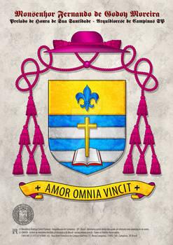 Heraldry Mons. Fernando de Godoy Moreira