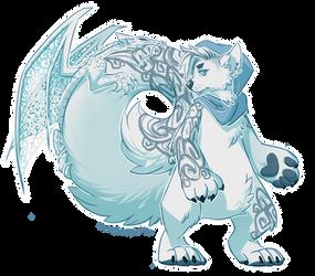 (Cinnadog) Wedding Dragon Cake by Paper-Rabbit