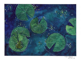 (Watercolor) Pond