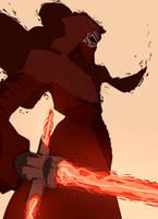 Kylo Ren by Whateverchancomics