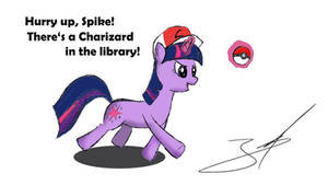 Twilight wants that Charizard!