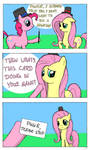 Fluttershy is tired of magic lessons