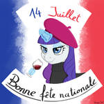 Rarity wishes you a happy French National Day!