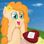 Heart's and Hooves Day Surprise for Pear Butter