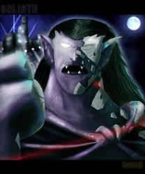 Goliaths awakening by Dragonborn91