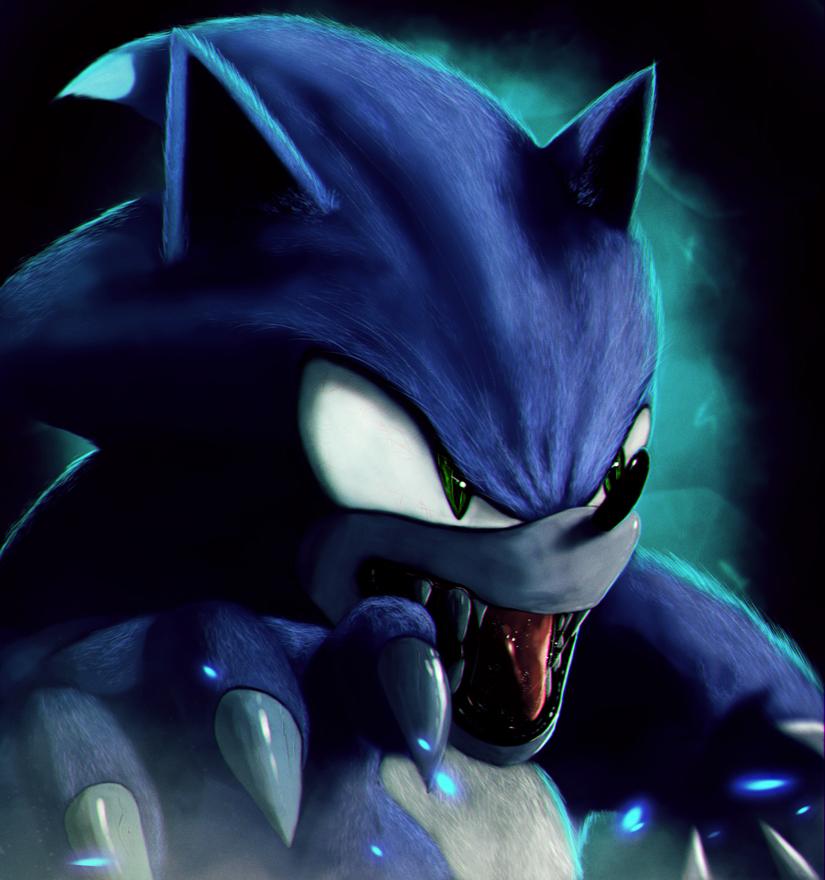Sonic The Werehog By Dragonborn91
