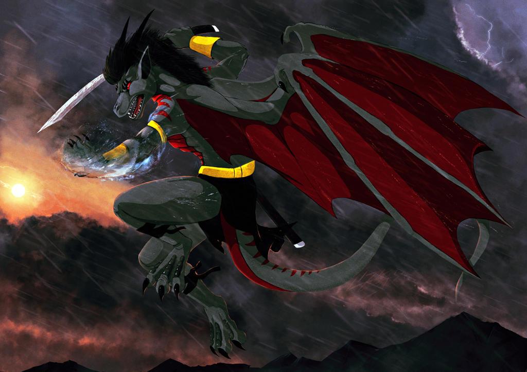 The Last Dragon by Dragonborn91