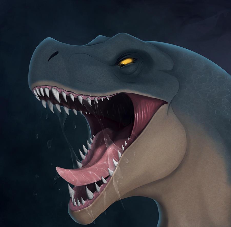 T-rex by Dragonborn91