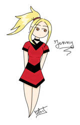 Jenny again XD... by Vlad-GS