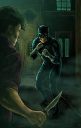 Wildcat Noir by kmillerillustration