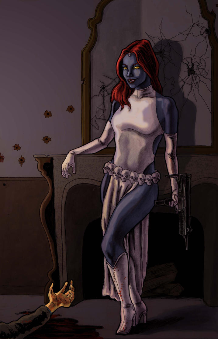 Mystique by kmillerillustration