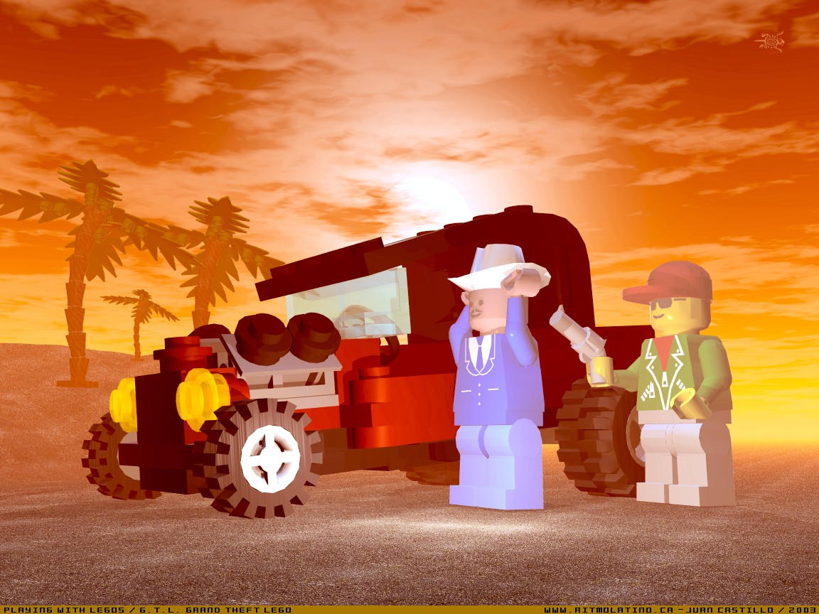 GTL Grand theft Lego by rlcwallpapers