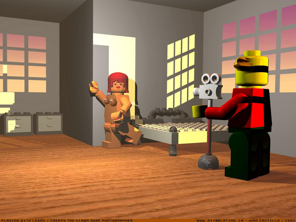 Lego Ninjago Skylor Naked