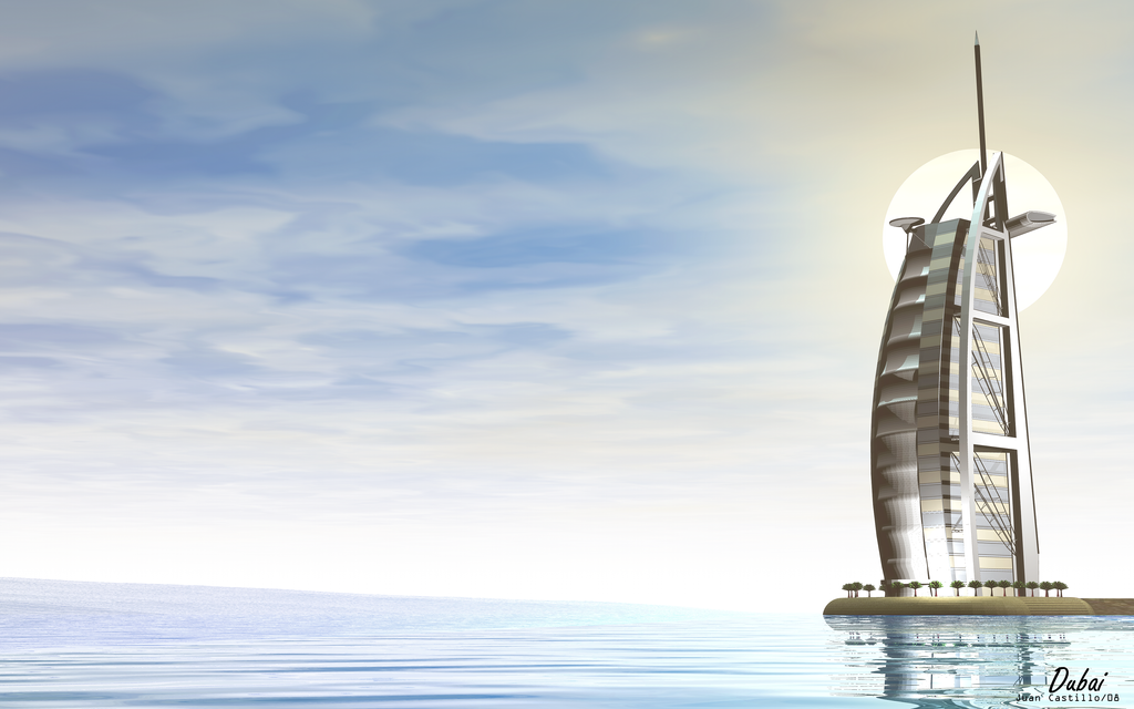 Dubai sail hotel by rlcwallpapers on deviantart for The sail hotel dubai
