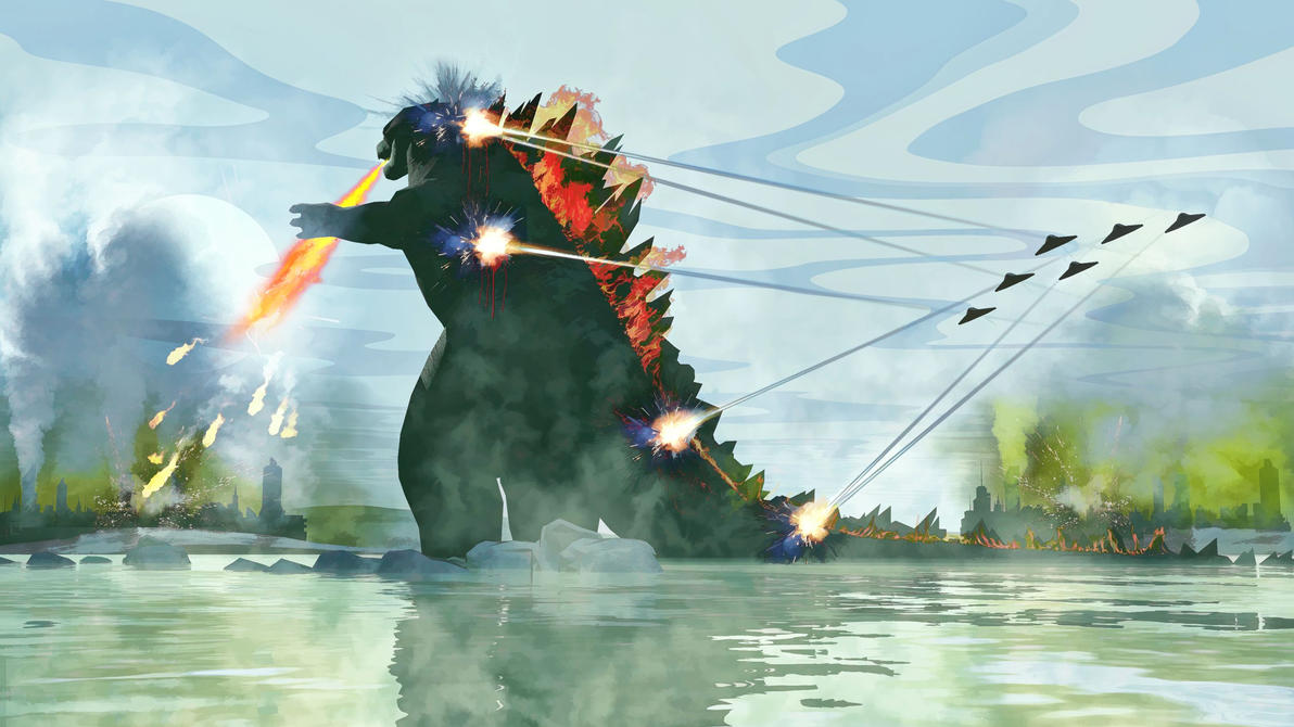 Gojira King of the Monsters by rlcwallpapers