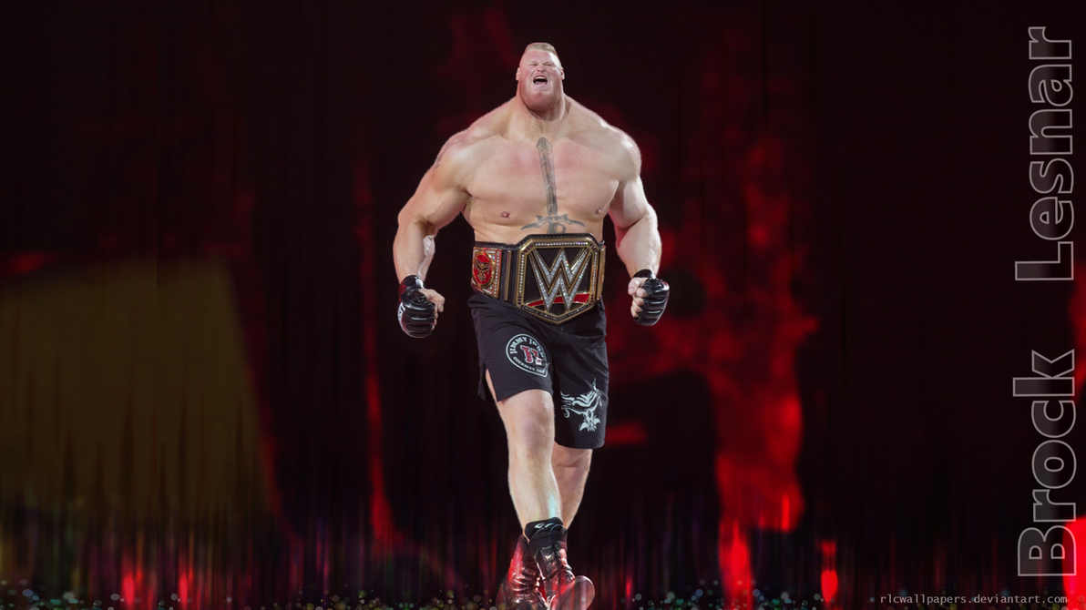 Brock Lesnar by rlcwallpapers