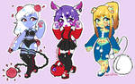 Price Reduced! Anthro Adopts -3/3 OPEN-