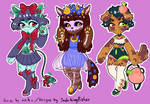 Price Reduced! Anthro Adopts -2/3 OPEN-
