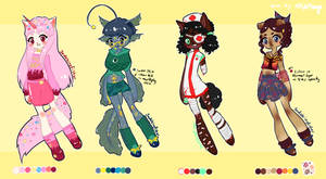 Price Reduced! Anthro Adopts -3/4 OPEN-