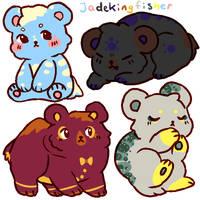Price Reduced! Set Price Bear Adopts