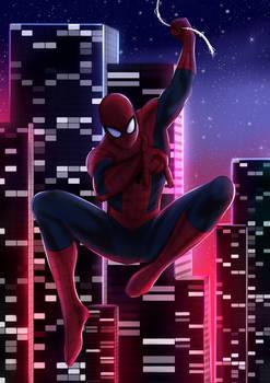 City of Spiders: Spiderman