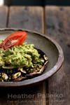 Roasted Portabella and Avocado Chicken Salad by hpdphotos