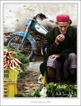 Old Man in Market-Tunisia