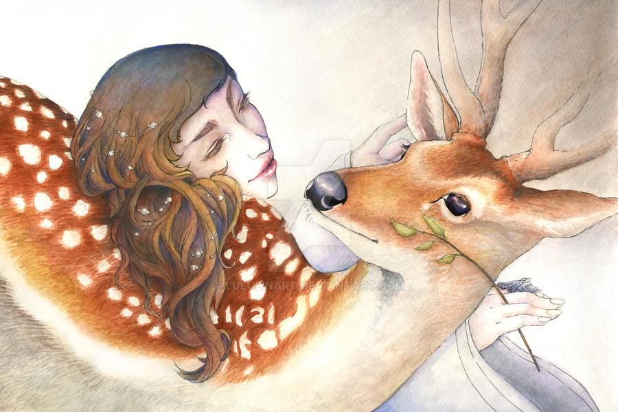 DeerLu by lululinart