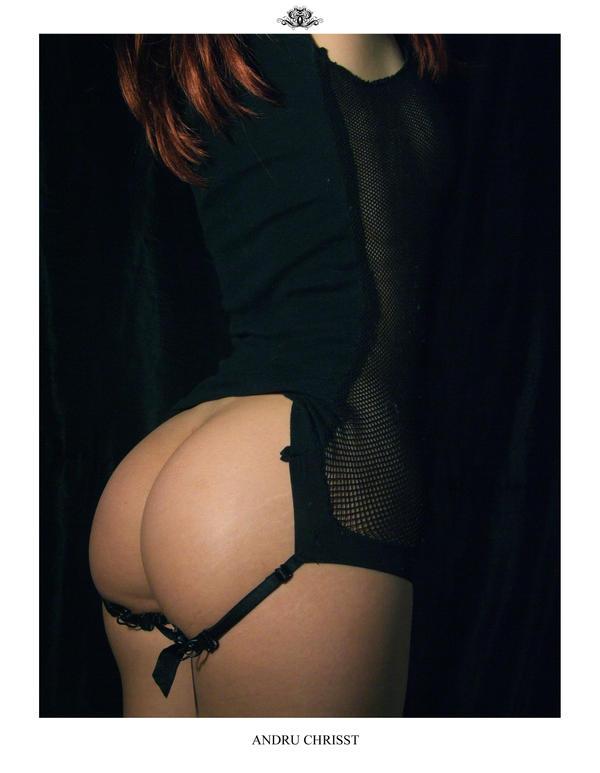 fishnet ass