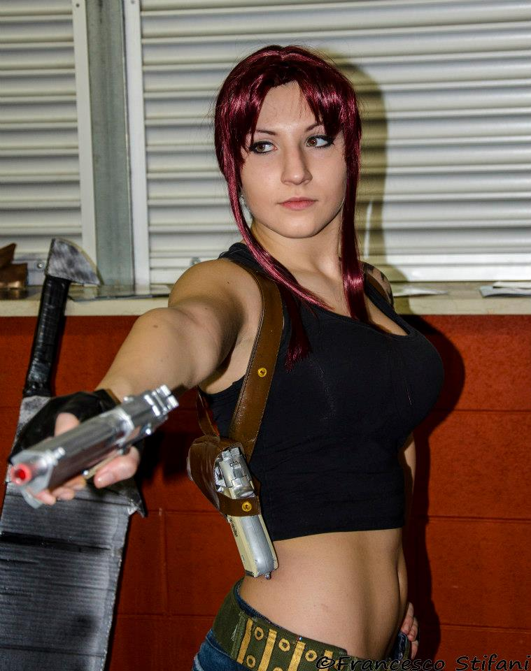 Revy Black Lagoon Cosplay By Lucyrose3 On Deviantart