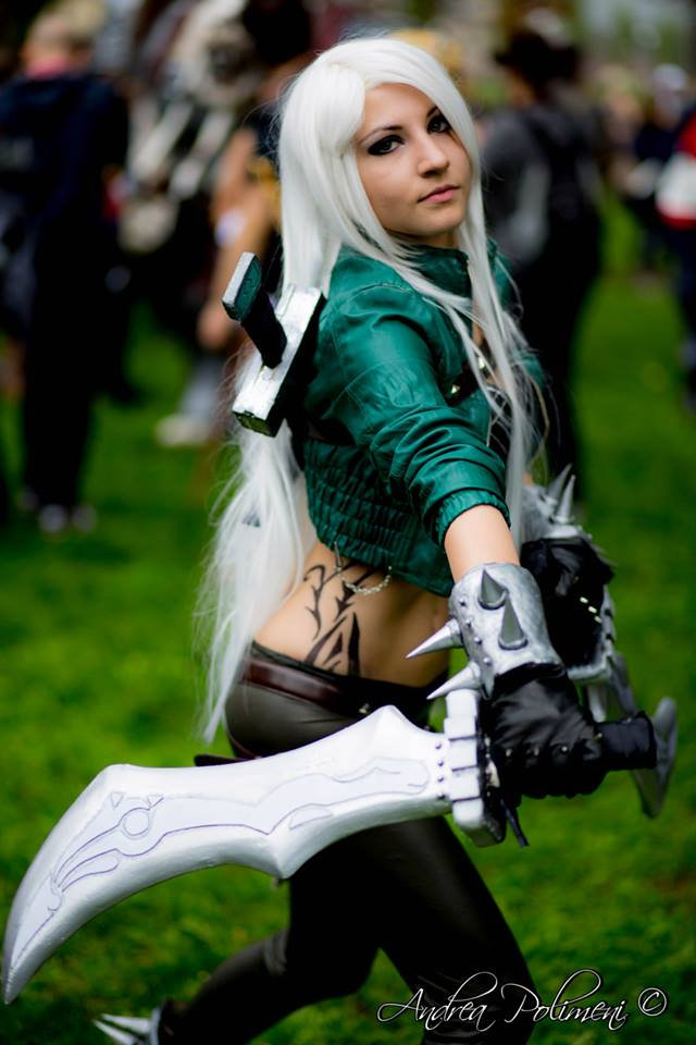 katarina mercenary league of legends cosplay by lucyrose3 ...