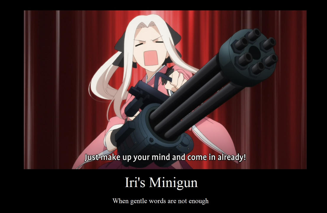 Minigun by neogoki