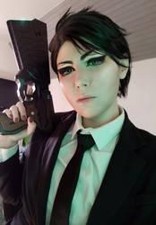 Kei Ignatov cosplay - PSYCHO-PASS 3 by YURK-K