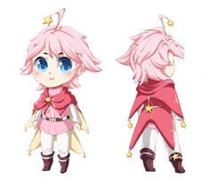 Kirby gijinka ref by iErenaChan