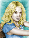 Carrie Underwood colored