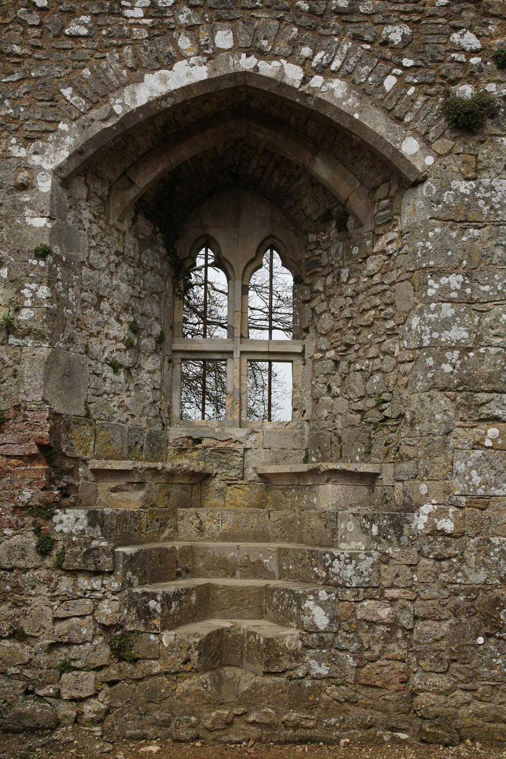Castle window - by NickiStock