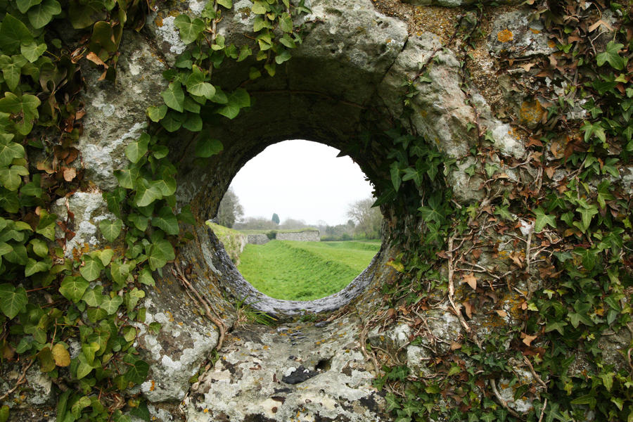 Wall hole1 by NickiStock