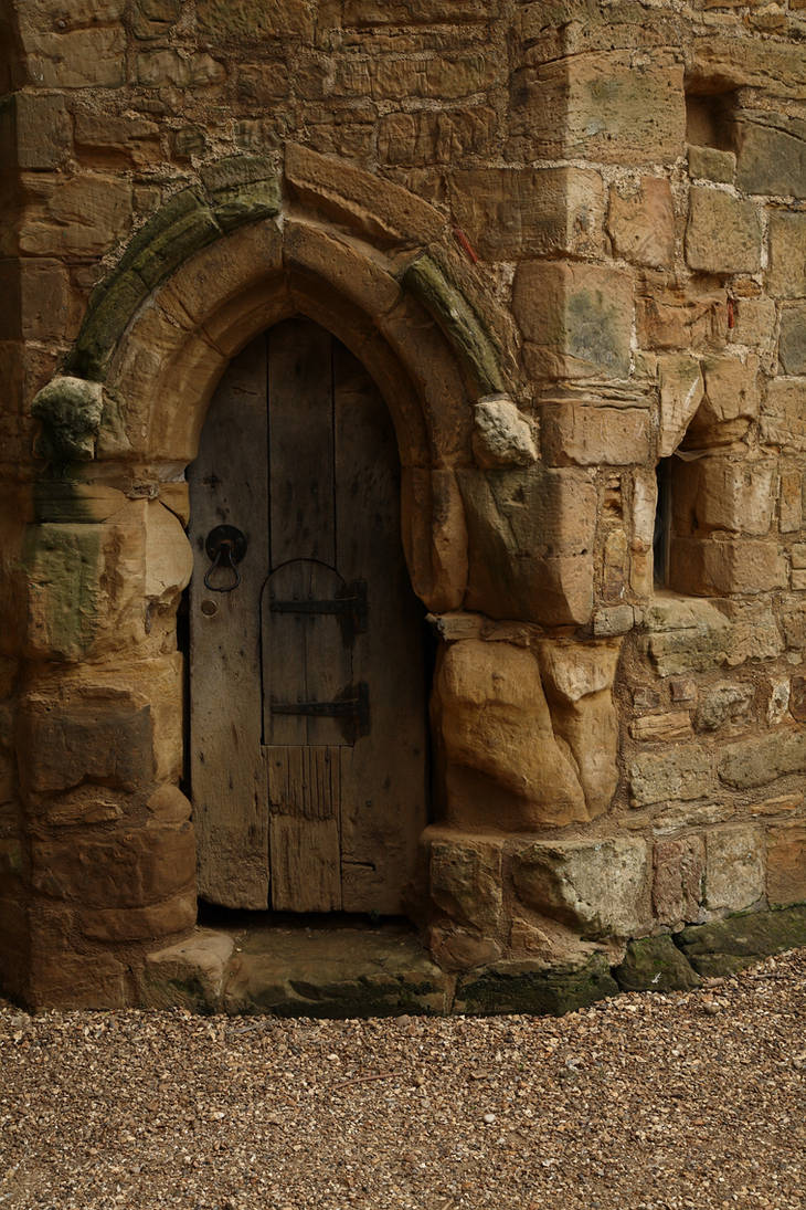 Castle Door by NickiStock