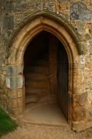 Doorway-Castle-Battle by NickiStock