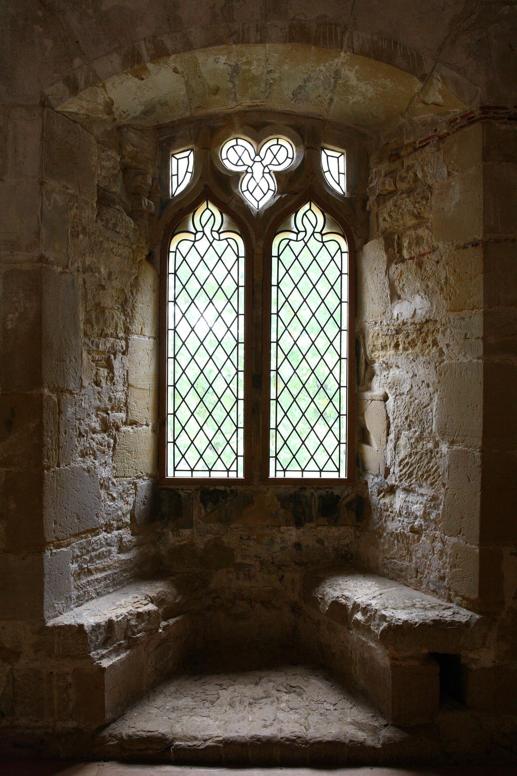 Castle window battle abbey by nickistock on deviantart for Windows fenetre