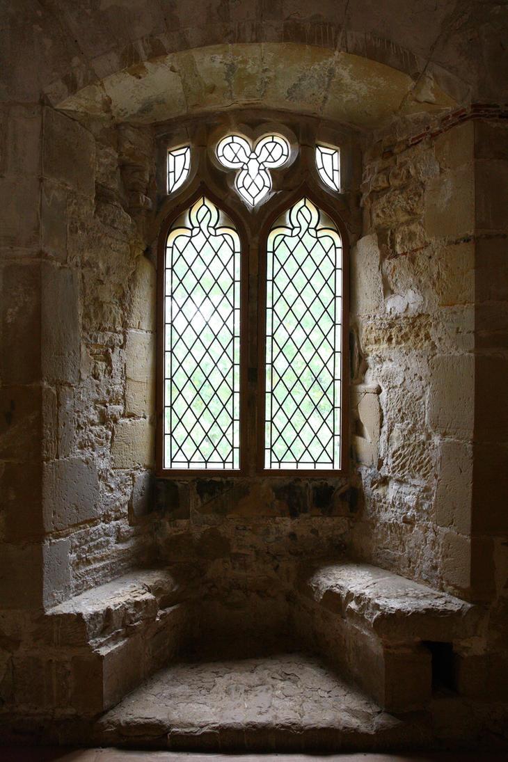 Castle Window - Battle Abbey by NickiStock