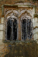 Abandoned Church Window by NickiStock